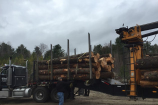 large firewood delivery milton nh